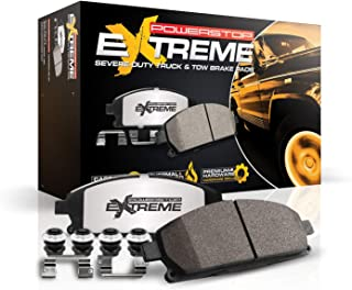 Power Stop Z36-1399, Z36 Truck & Tow Carbon-Fiber Ceramic Front Brake Pads