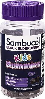 Sambucol Black Elderberry Kids Gummies, 30 Count