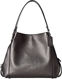 COACH - Metallic Leather Edie 31