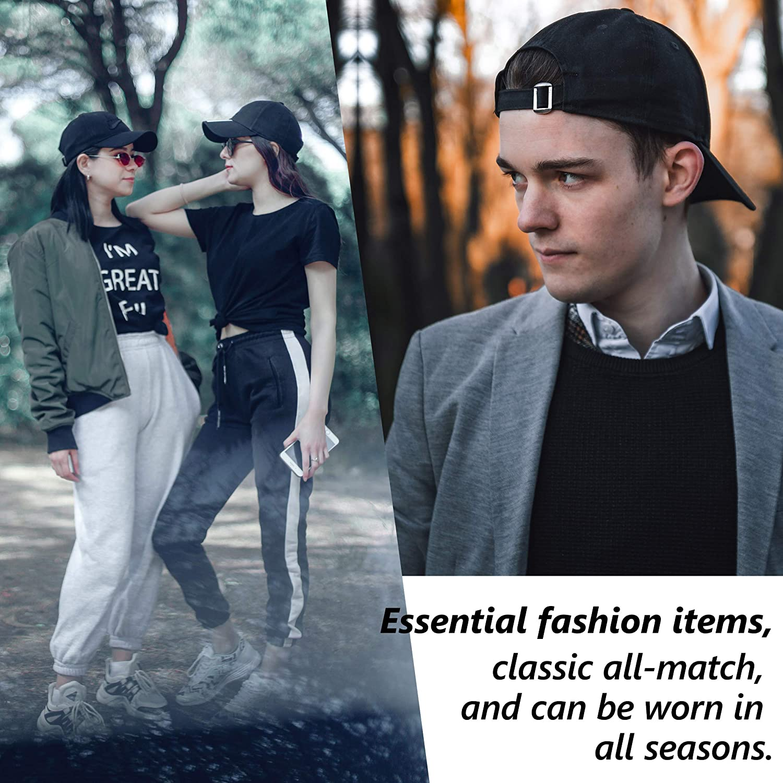 ENCOM Unisex Baseball Cap,Mens Comfortable Washable Adjustable Fashion Ball Hats for Outdoor Activities