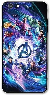 Comics iPhone 6s Plus Case iPhone 6 Plus Case Full Body Protection Cover Cases (Avengers-mv)
