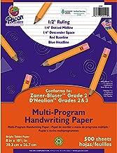 pacon handwriting paper