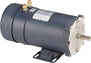 Leeson 108322.00 Low Voltage DC Motor, 56C Frame, C-Face Rigid Mounting, 1HP, 1800 RPM, 12V Voltage