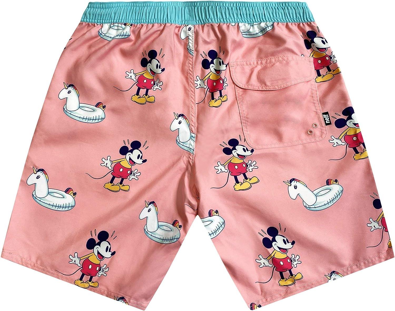 Disney Neff Men's Standard Mickey Mouse Hot Tub Swim Surf Shorts
