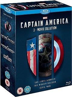 Capitán América Colección 3 Películas [Blu-ray] [Región última intervensión]