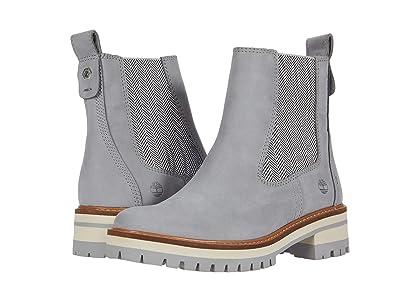 Timberland Courmayeur Valley Chelsea Boot (Medium Grey Nubuck) Women