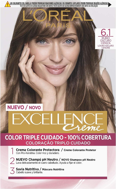 EXCELLENCE tinte color Castaño Radiante Nº 5,03 caja 1 ud