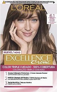 comprar comparacion L'Oréal Paris Excellence Creme Tinte Tono 6.1 Rubio Oscuro Ceniza - 50 ml