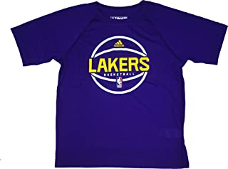 Los Angeles Lakers Purple Ultimate Short Sleeve Performance Tee Kids