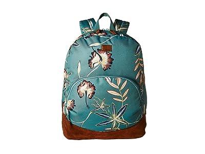 Roxy Fairness Backpack (Trellis Bird Flower) Backpack Bags