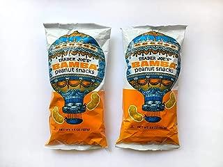 Trader Joe's Israel Bamba Peanut Snacks, 3.5 oz (100g), Set of 2 Bags, Kosher Pareve