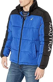 Men's Colorblock Puffer Jacket