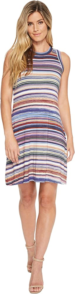 Newport Stripe Halter Dress