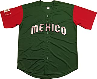 Kooy Mexico Puerto Rico Colombia Italy Cuba Venezuela World Classic Baseball Jersey Men Adult