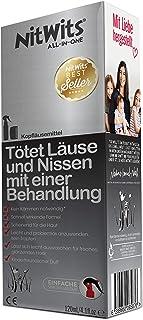 NitWits Läusemittel Kopfläuse - All-In-One Läuse Abwehrspray gegen Läuse und Nissen - Wirksame Alternative Für Kinder Anstelle Läuseshampoo & Läusekamm, 120ml
