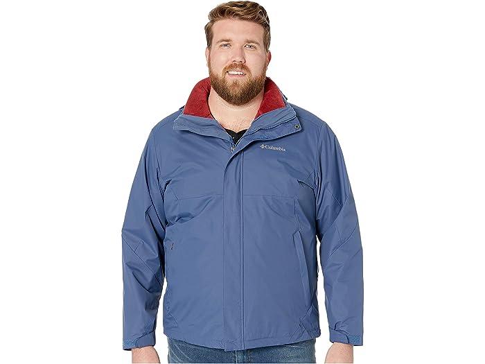 Columbia Mens Big and Tall Eager Air Big /& Tall Interchange Jacket