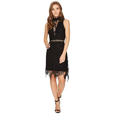ASTR the Label Felicity Dress (Black) Women