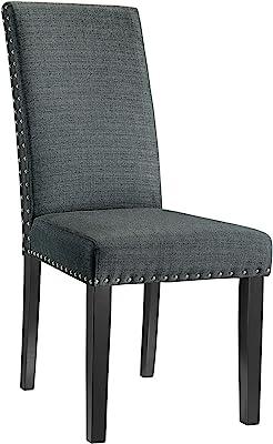 Amazon.com - Modern Velvet Dining Chairs, Upholstered Living ...