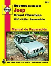 Jeep Grand Cherokee 1993 Al 2004 Todos Modelos Man (Haynes Manuals)