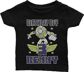 Personalize Buzz Lightyear Toy Story Birthday Shirt