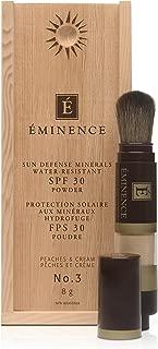 Eminence Sun Defense Minerals SPF30, #3 Peaches and Cream, 8 Gram