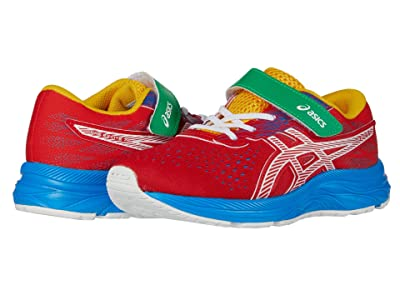 ASICS Kids Pre Excite 7 (Toddler/Little Kid) (Classic Red/White) Boy