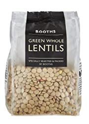 Booths Green Whole Lentils, 250 g