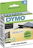 DYMO S0722520 LabelWriter Büyük İade Adresi Etiketi 25 x 54 mm - Beyaz Üstüne Siyah (500'lük Etiket Rulosu)