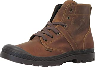 Palladium Men's Pallabrouse lea 2 Leather Combat Boot