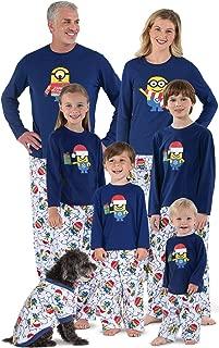Holiday Pajamas Family Fleece - Minion Pajamas, Blue