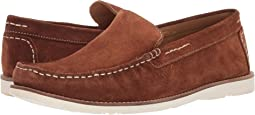 Brown Calfskin Suede