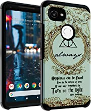Google Pixel 2 Case, DURARMOR Harry Potter Hogwarts Deathly Hallows Map Dual Layer Hybrid Case ShockProof Slim Fit Armor Drop Protection Cover for Google Pixel 2 (2017) Always