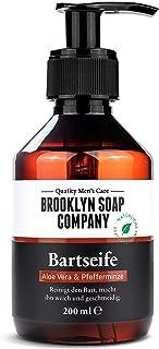 Baardshampoo, baardzeep, Baardwas 200 ml, Baardreiniging en -verzorging - natuurlijke cosmetica van BROOKLYN SOAP COMPANY,...