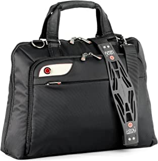 i-Stay Ladies 15.6-16 inch Laptop Bag with Non-Slip Shoulder Strap - Black