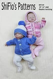 knitting Pattern - KP149 - Pram Set Doll for 10