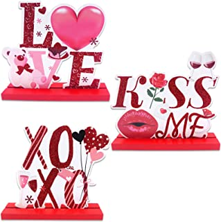 Valentine/'s Day Romantic Hanging Plaque Be Mine Love Kiss You/'re Sweet XOXO
