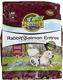 Natural Planet Organics Rabbit & Salmon Entree Dry Dog Food 25 lb