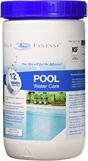 AquaFinesse Small and Above Ground Pool Tablets - 12 Count