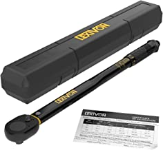 LEXIVON 1/2-Inch Drive Click Torque Wrench 10~150 Ft-Lb/13.6~203.5 Nm (LX-183)