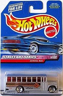 SCHOOL BUS Hot Wheels 1999 Street Art Series School Bus 4/4 1:64 Scale Collectible Die Cast Car Model #952