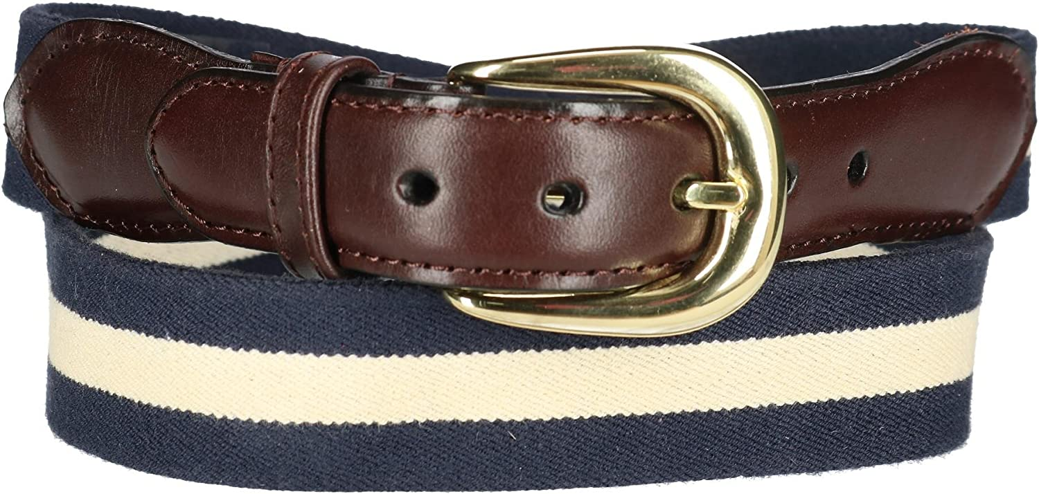 Rogers-Whitley Kids Reversible Western Tooled Belt