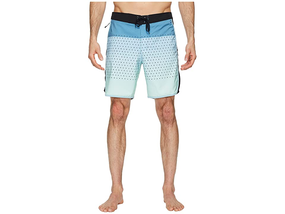 Hurley Phantom Motion Third Reef 18 Boardshorts (Ocean Bliss) Men