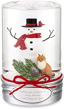 Things Remembered Personalized Snowman Mason Jar Snow Globe with Engraving Included
