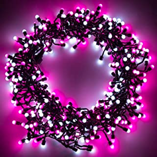 Sponsored Ad - Quntis Valentines Day Decorations String Lights, 13FT 400LEDs Battery Powered Globe Fairy Lights with Timer...