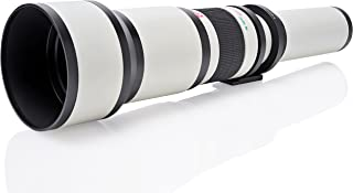 Opteka 650-1300mm (with 2X- 1300-2600mm) Telephoto Zoom Lens for Panasonic DMC GH5, GH4, GH3, GH2, GH1, GX850, GX85, G85, GX8, GX7, GX1, GF8, GF7, GF6, GM5, GM1, G10, G9, G7, G6, G5 Digital Camera