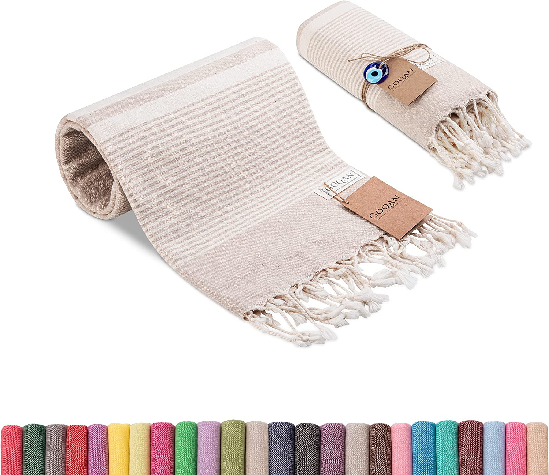 Realgrandbazaar Turkish Towel - Sand Free and Quick Dry