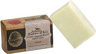 Jabón Zorro D'Avi | Champú Sólido de Coco | 120 gr | Nutritivo e hidratante | Champú Sólido Zero Waste | Regenerador y for...