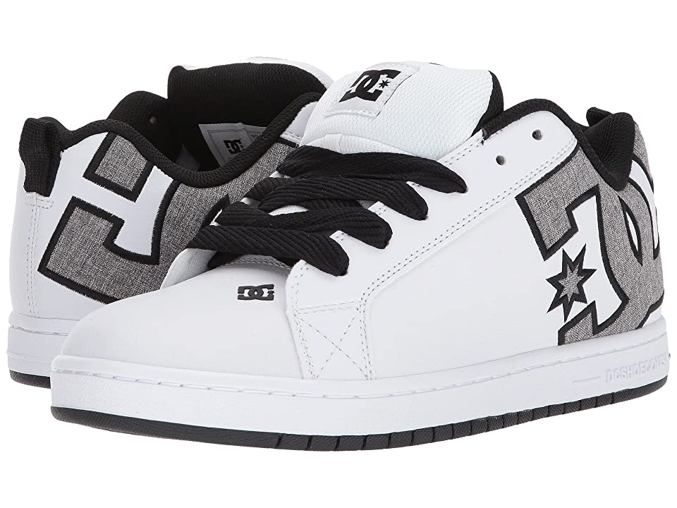 DC Court Graffik SE (White/Heather Grey) Men
