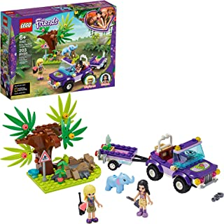 LEGO Friends Baby Elephant Jungle Rescue 41421 Adventure Building Kit; Animal Rescue Playset That Comes with a Toy Truck a...