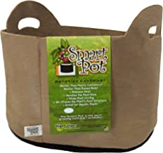 Smart Pots 7-Gallon Smart Pot Soft-Sided Container, Tan with Cut handles